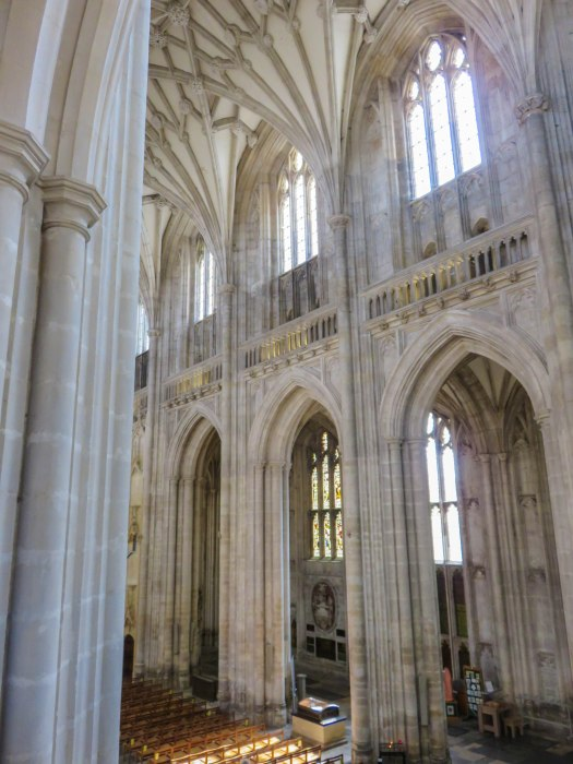 winchester cathedral clerestory