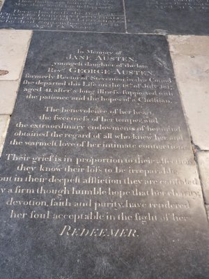 Jane Austen grave