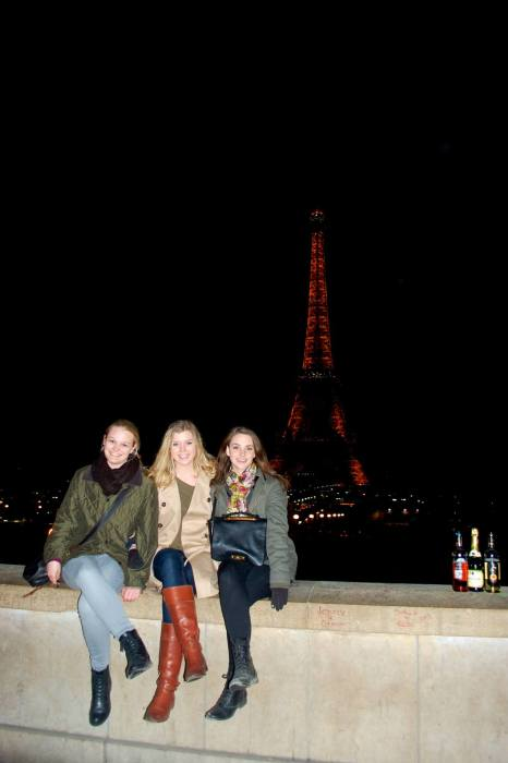eiffel tower view from trocadero paris