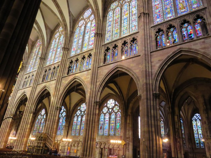 strasbourg cathedral stained glass