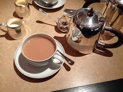tea from delauney counter