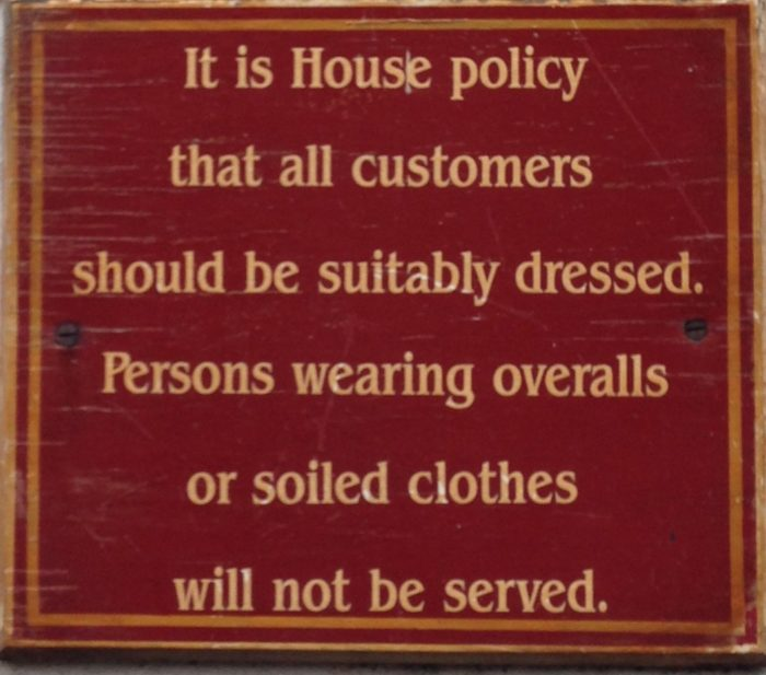 house rules london
