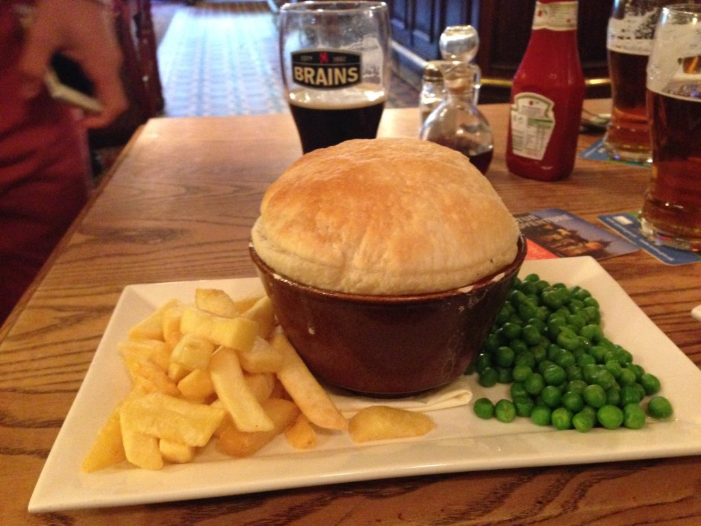 pie chips wales
