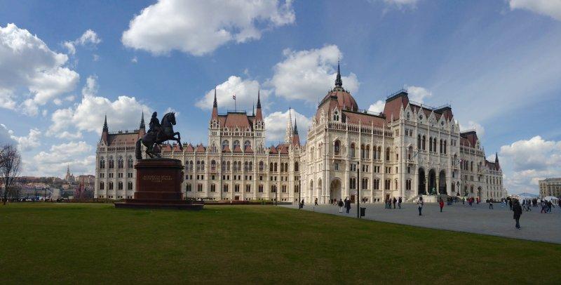 hungarian parliament building image budapest hungary
