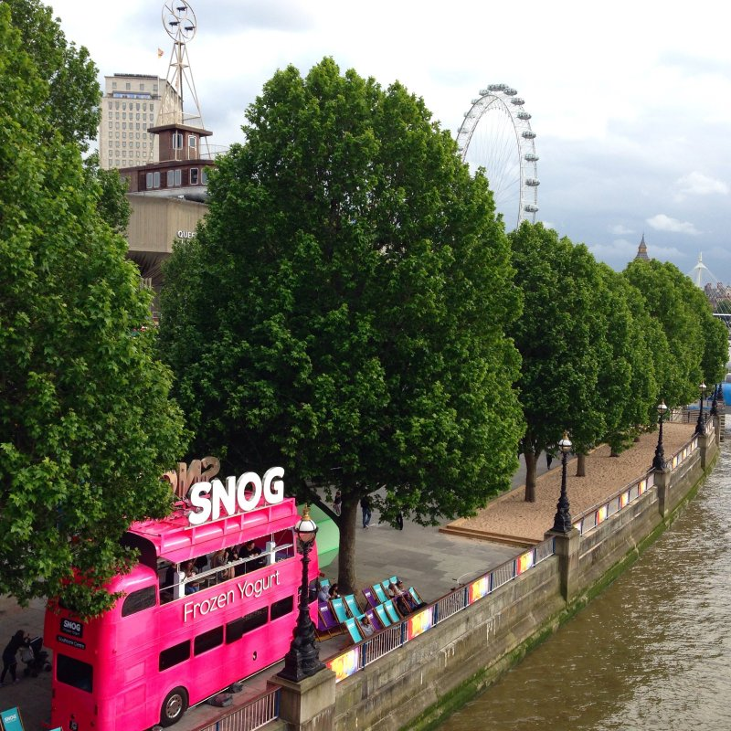 snog frozen yogurt london southbank centre the eye thames waterloo bridge