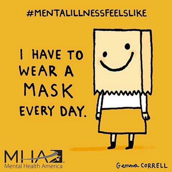 mental illness mask