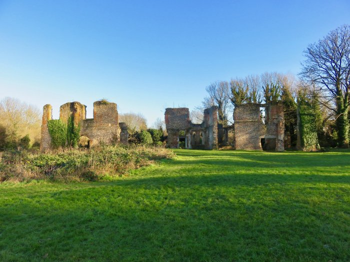 sopwell nunnery ruins in st albans