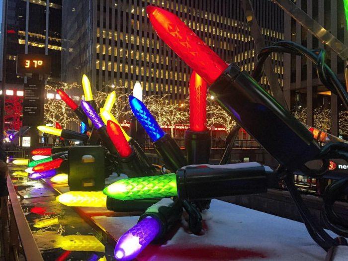 giant christmas lights nyc