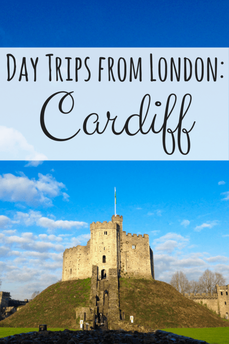 Cardiff, Wales makes a perfect day trip from London. When you visit and see all that it has to offer you will never want to leave!