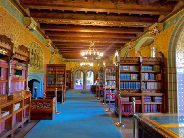 cardiff castle apartments library