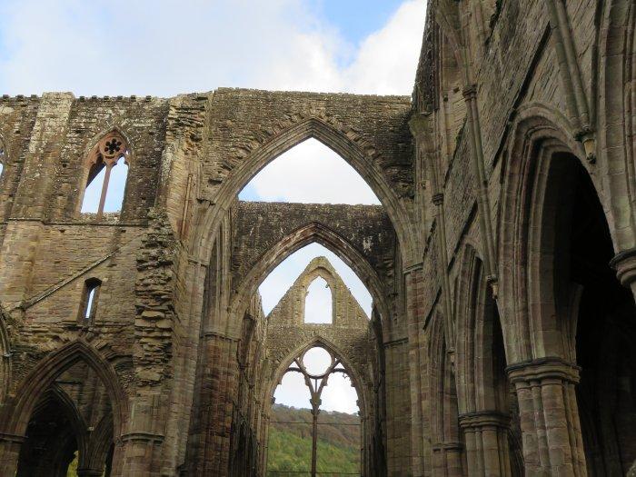 tintern abbey ruins south wales