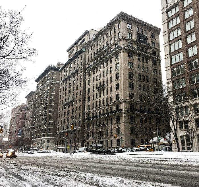 park avenue snow