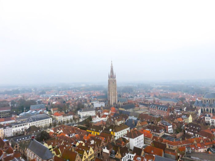 bruges view from belfry