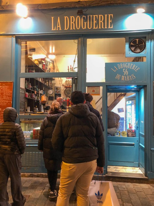 la droguerie du marais crepes paris france