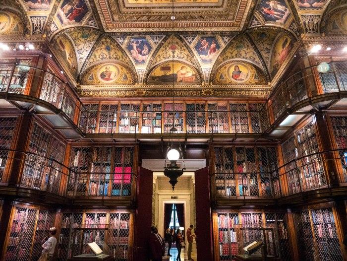 the morgan library interior