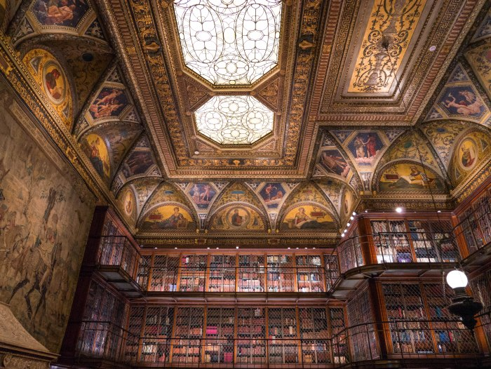 the morgan library interior