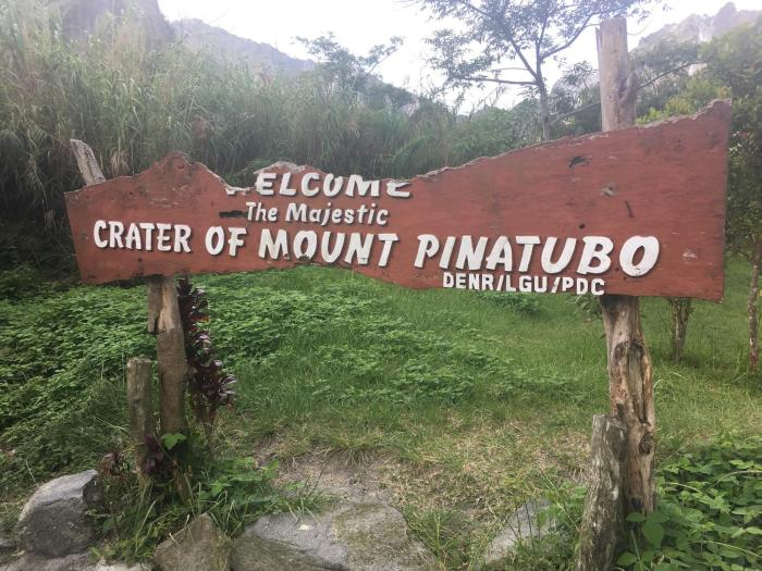 crater of mount pinatubo