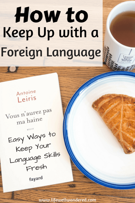 When you're not in school, living abroad or working in another language, language maintenance can be hard. If you're struggling to maintain a second (or third) language, or curious as to things you can do to be exposed to your foreign language, here are some tips on how to keep up with a foreign language.