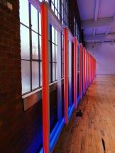 Dia Beacon lights installation