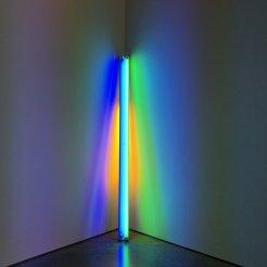light installation art at dia beacon