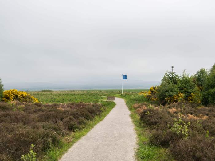Culloden Battlefield, the spot of the last Jacobite Uprising in the 18th century. A wide moor near Inverness, Scotland, this site is an important place in Scottish history. #Culloden #Outlander #Scotland