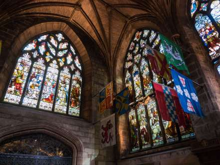 inside st giles cathedral edinburgh