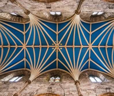 main aisle ceiling st giles cathedral edinburgh