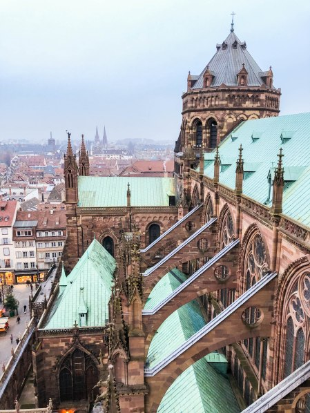 strasbourg cathedral from above 13