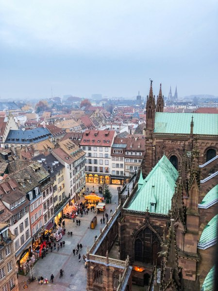 strasbourg cathedral from above 14