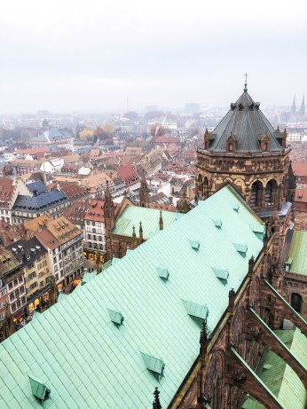 strasbourg cathedral from above 6
