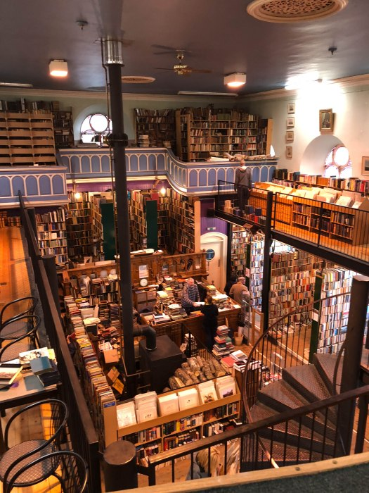 leakey's bookstore in an old church inverness scotland