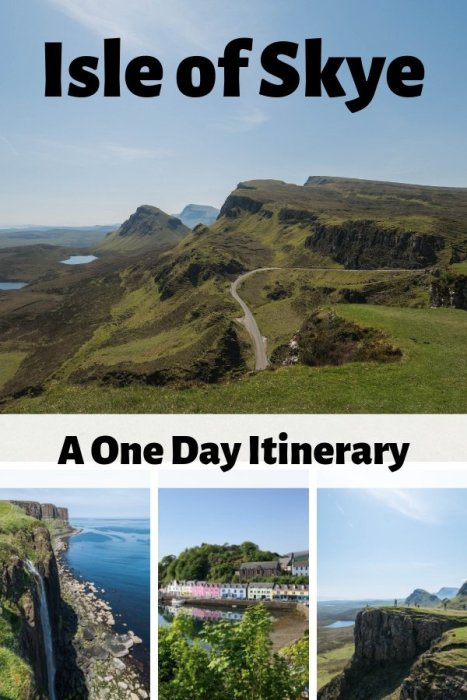 A perfect one day itinerary for the Isle of Skye in Scotland
