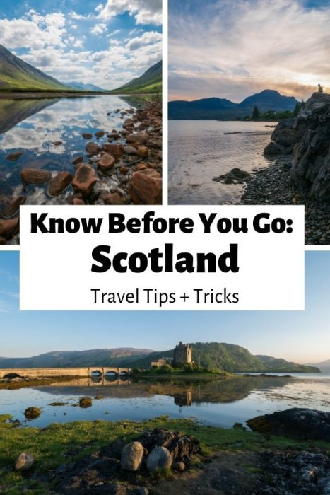 what to know before visiting scotland
