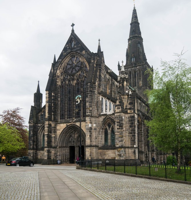 glasgow cathedral exterior scotland