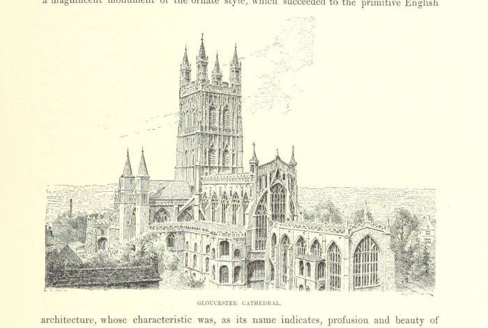 gloucester cathedral in 1888