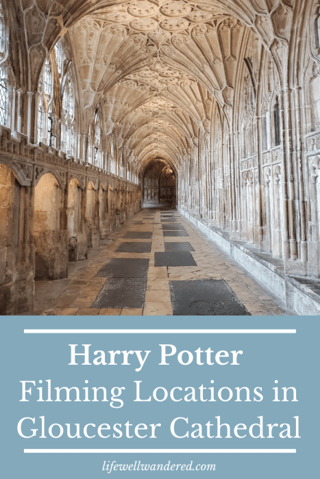 Harry Potter Filming Locations in Gloucester Cathedral