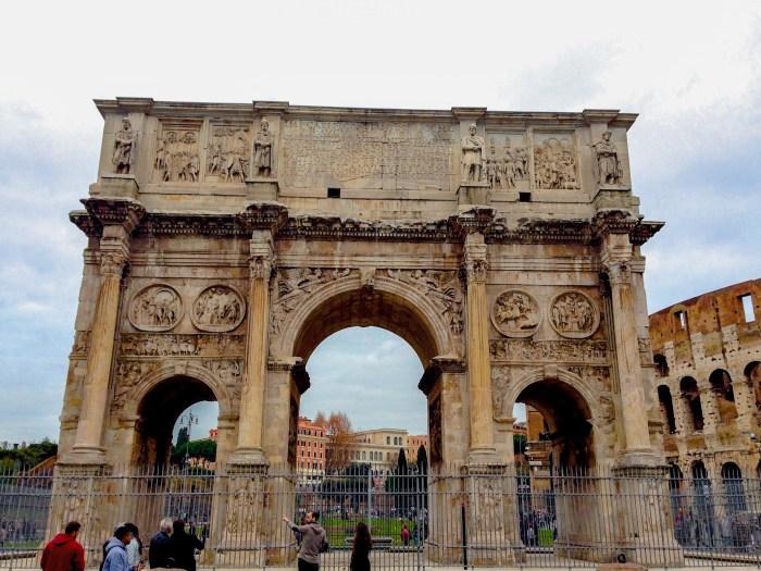 arch of constantine roman forum