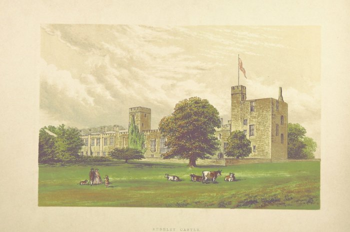 sudeley castle engraving from 1866
