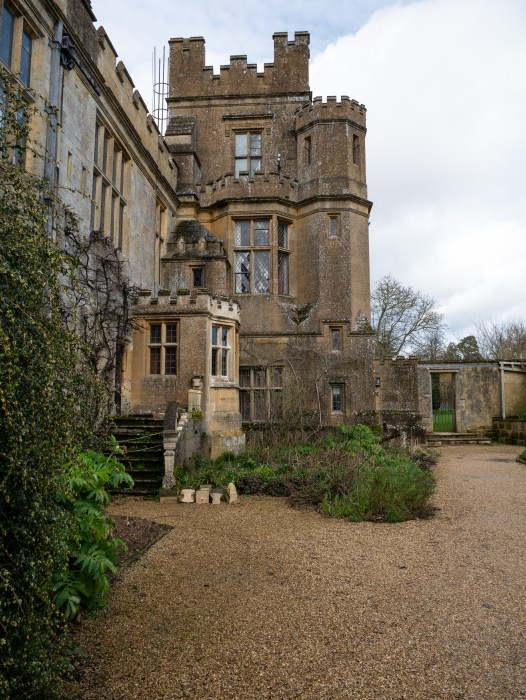 exterior of the residence wing at sudeley castle