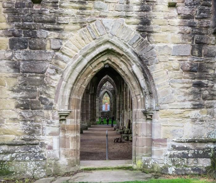 aisle door at tintern abbey