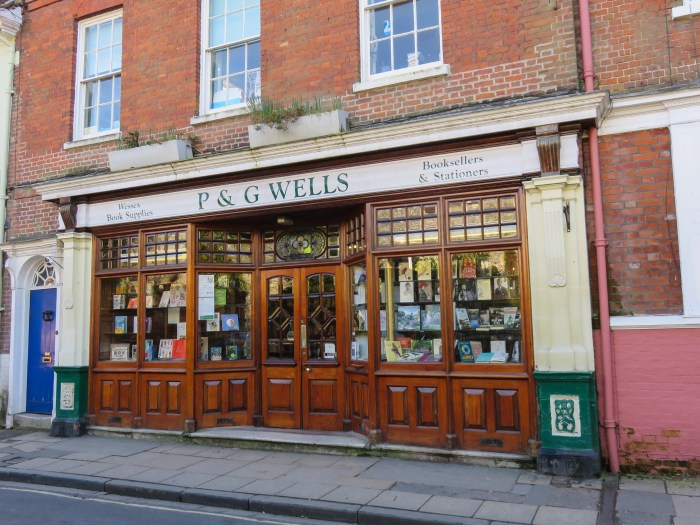 exterior image of p&g wells winchester england