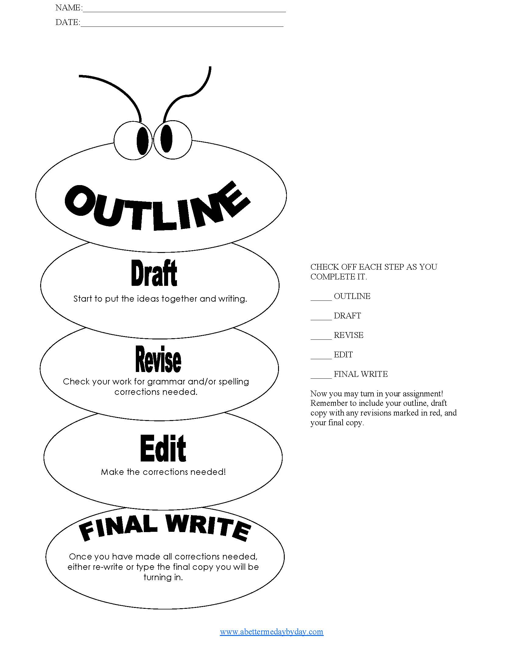 essay types - Outline Of Essay Example