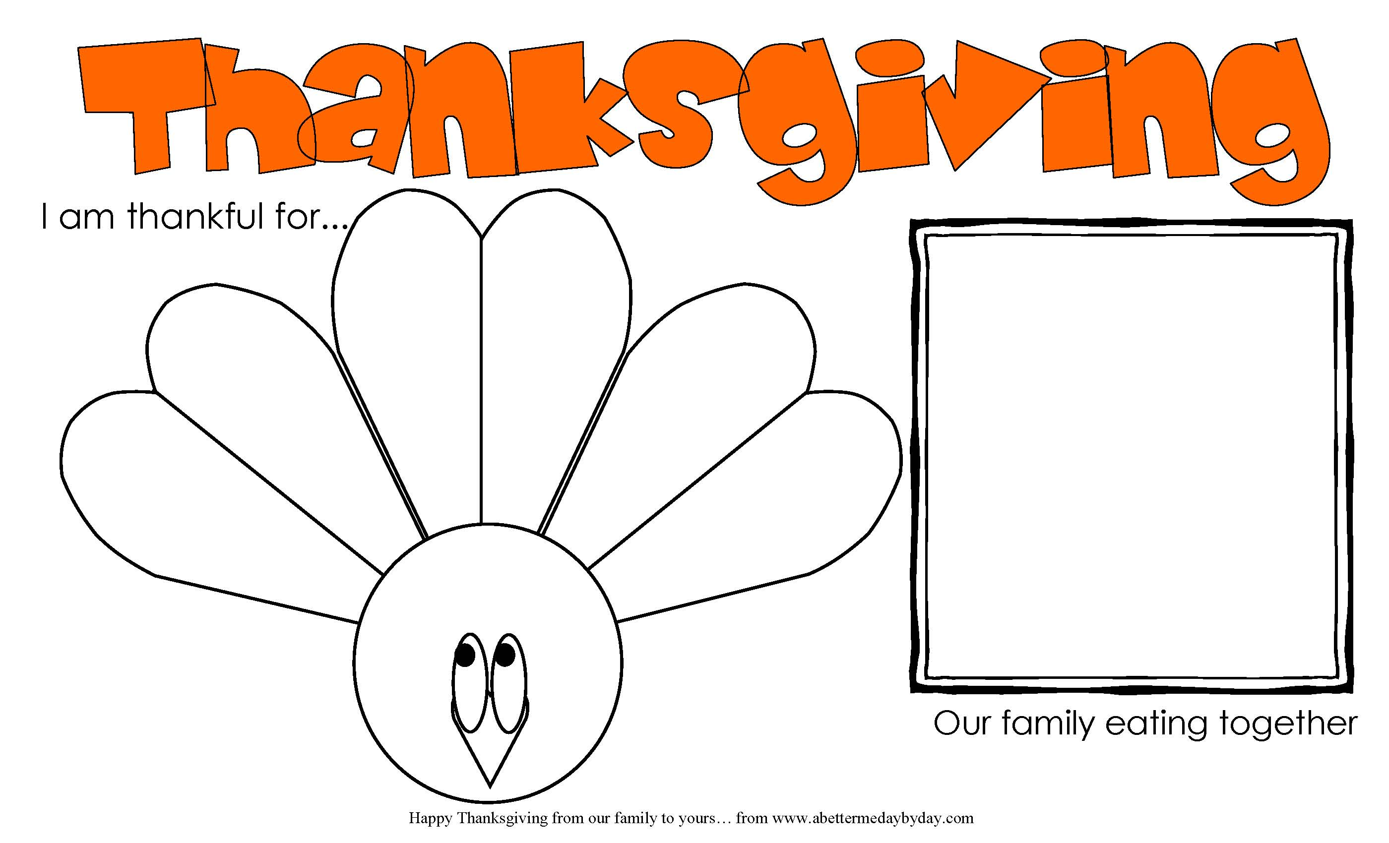 Thanksgiving Preschool Sorting Worksheet