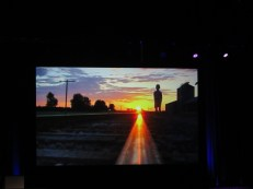 """An image from a video montage of Bill Geist's work on """"CBS Sunday Morning."""" Photo: Meredith Arout for Life-Wire News Service."""