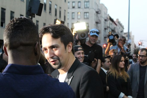 Lin-Manuel Miranda. Photo: Meredith Arout for Life-Wire News Service.