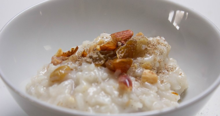 Caitlin's Confections: Traditional Indian Kheer