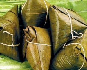 bamboo leaves, zongzi, dumplings, dragon boat festival