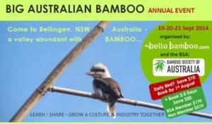 bamboo events, Big Australian Bamboo Annual Event
