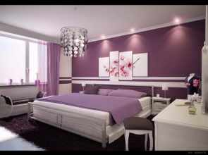 Stylish-Preppy-Bedroom-Ideas-for-Teens-Room-Decorating-with-purple-design