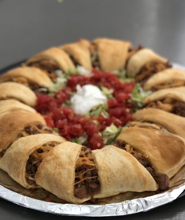 What's for dinner? Taco Croissant